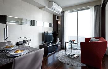 民泊/airbnb 家具インテリアサービスでインテリアがコーディネートされて揃う