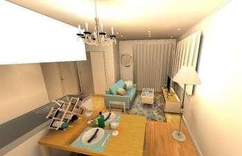 アンティークな雰囲気のあるフレンチナチュラルなお部屋