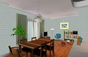 少ない家具でコーディネートしたおしゃれなお部屋