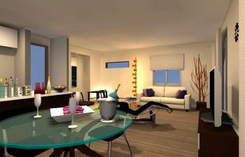 和室と、広いお部屋をフルに活用したコーディネート
