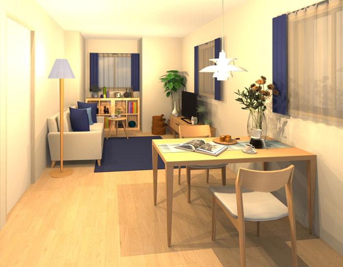 お気に入りの家具に囲まれた北欧テイストのお部屋
