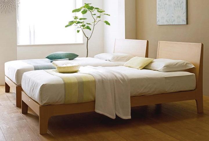 北欧風ベッドルーム