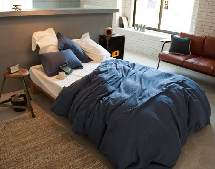 ワンルームのベッド・コーデ